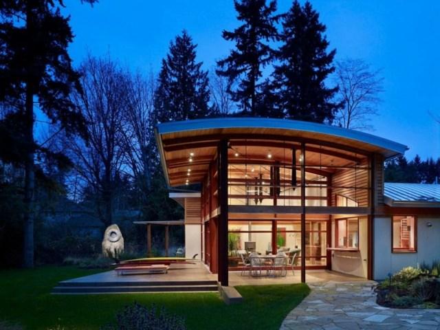 iluminacion moderna techo lamparas ideas exterior