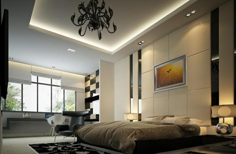imagenes impresionantes dormitorio blanco negro ideas