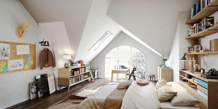 imagenes impresionantes dormitorio muebles madera ideas