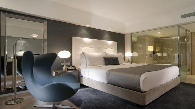 imagenes impresionantes dormitorio silla huevo ideas