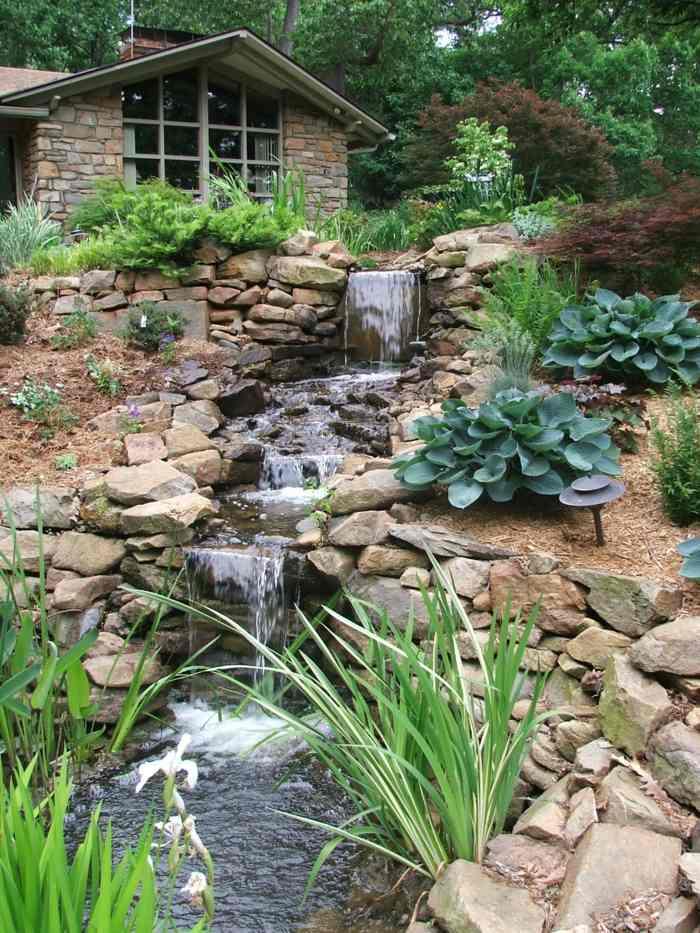 imagenes jardin original jardineria caida agua ideas