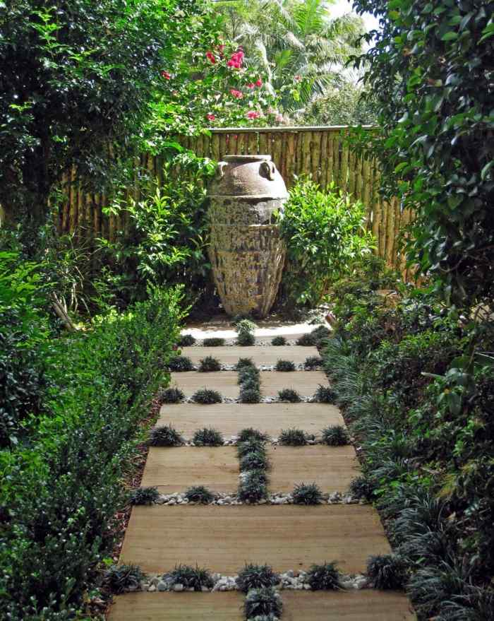 imagenes paisajes jardin camino original ideas