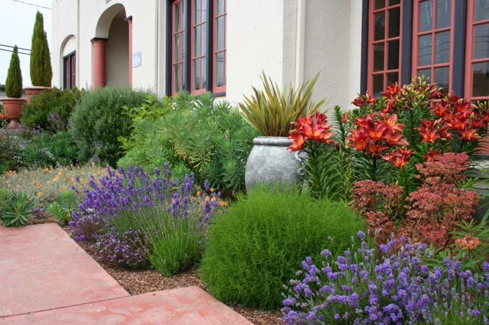 imagenes paisajes jardin colorido flores ideas
