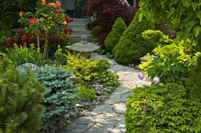 imagenes paisaje jardin plantas detalles ideas
