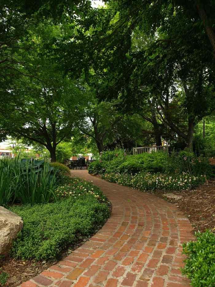 imagenes paisaje jardin plantas flores ideas