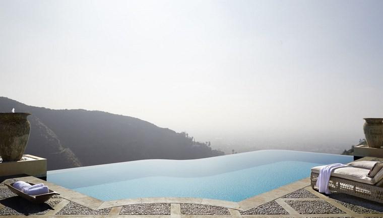 infinitas piscinas diseno original jardin ideas