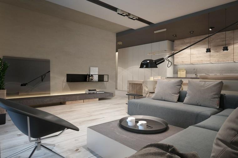 interior decoración colores neutros