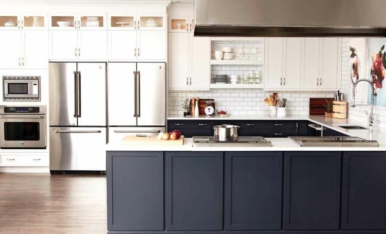 Cocina blanca y negra - descubre la tendencia de este año -
