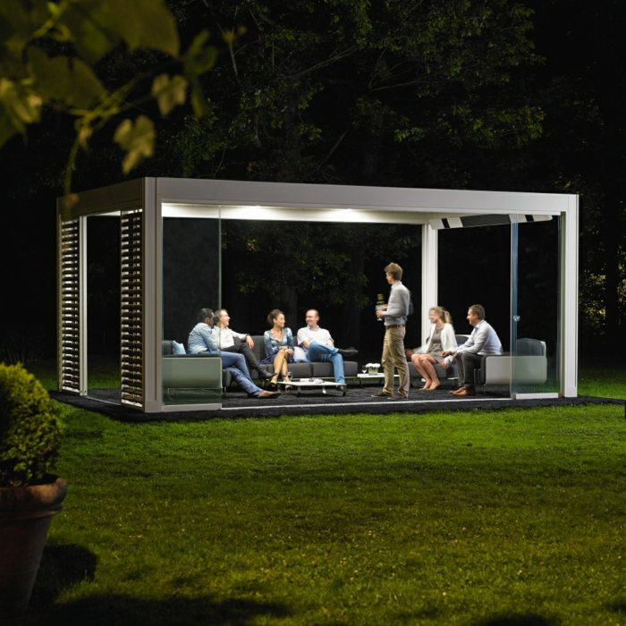 jardin amplio diseno innovador salon ideas