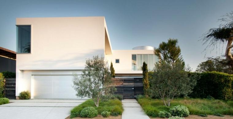 jardin casa disenada Dennis Gibbens Architects ideas
