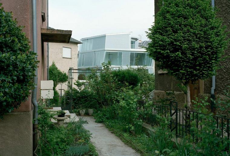 jardin casa disenada Périphériques Architectes ideas