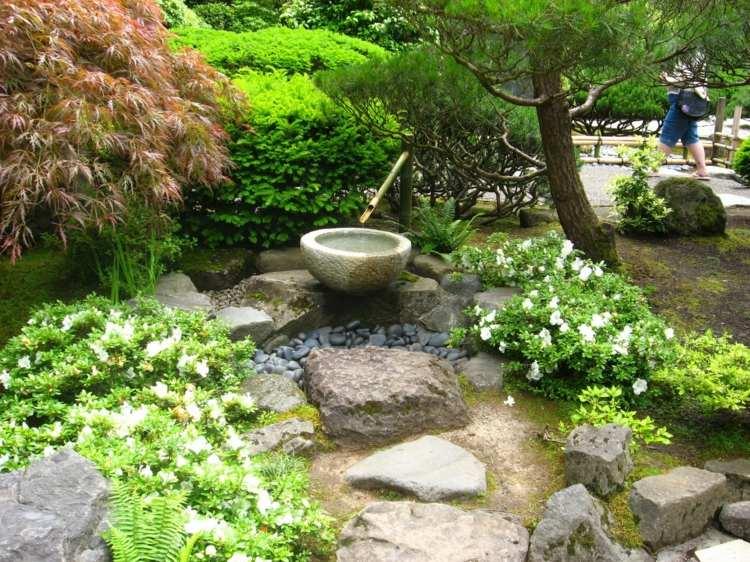 jardin japones jardineria bambu decorado rocas