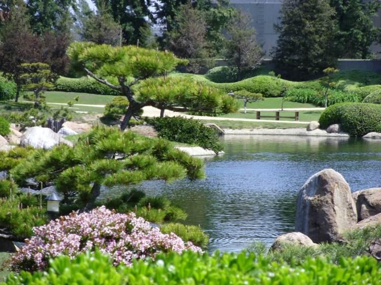 jardin japones jardineria ideas fuentes lagunas