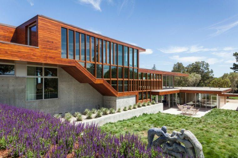 jardin moderno casa disenada Swatt Miers Architects ideas