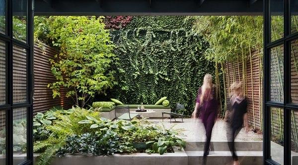 jardin urbano jardin vertical original plantas ideas