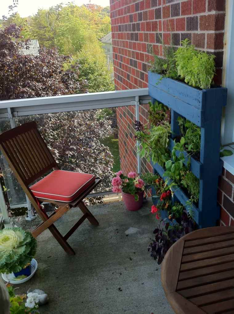 Jardin vertical con palets incre bles dise os f ciles de for Plantas recomendadas para jardin vertical