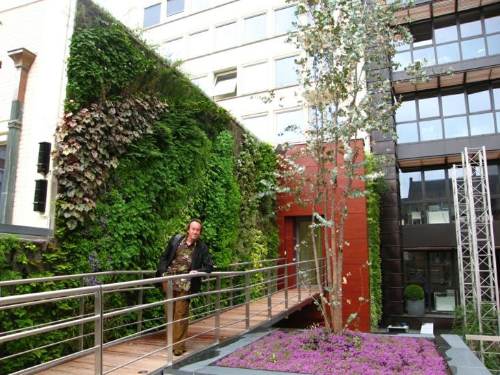 vertical garden design exterior buildings facades