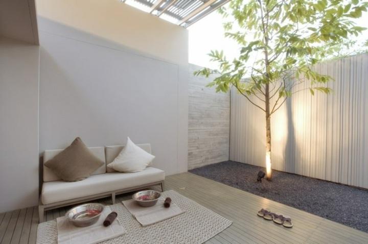 jardin zen meditacion en ambientes inspiradores