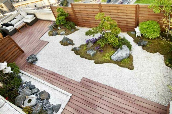 jardin zen meditacion en ambientes inspiradores. Black Bedroom Furniture Sets. Home Design Ideas