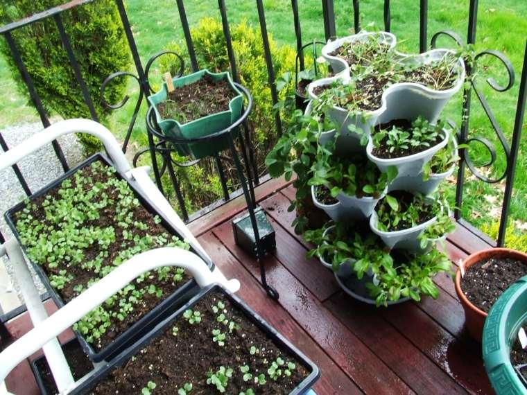 jardinera original macetas especias caseras