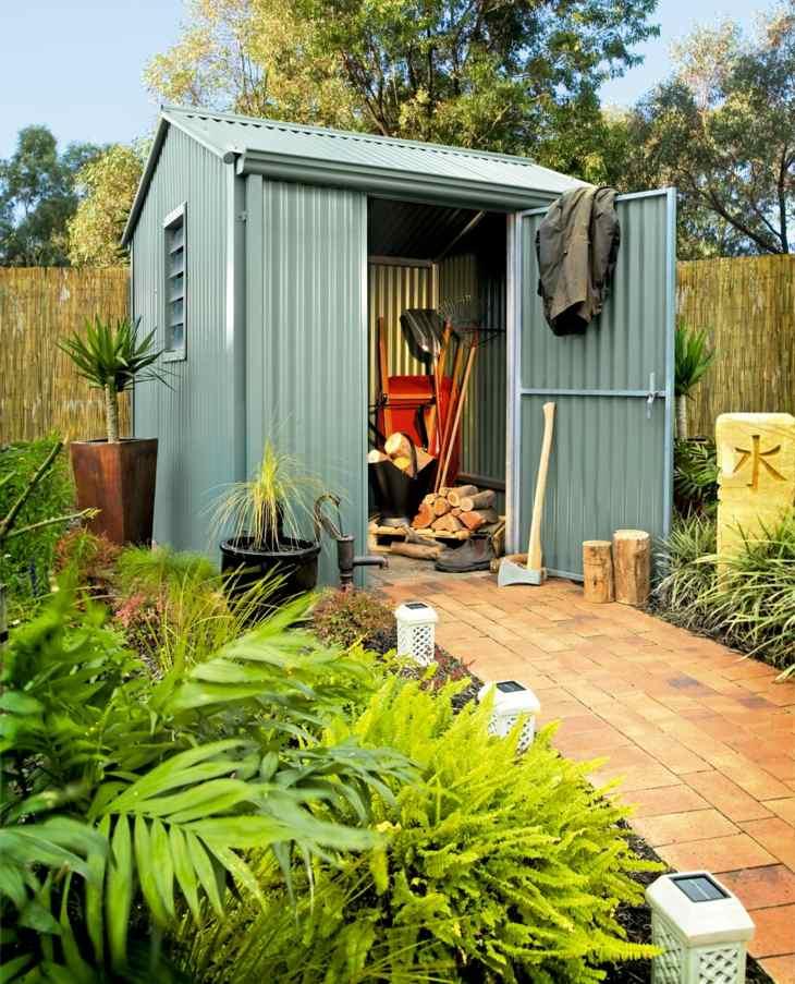 jardines almacenamiento creativos estructurales funciones