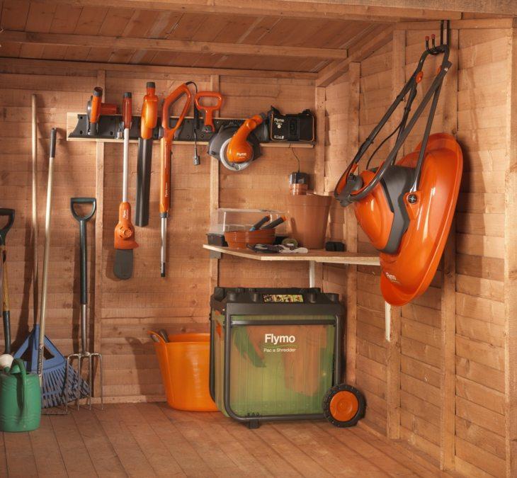 jardines almacenamiento soluciones espacios herramientas