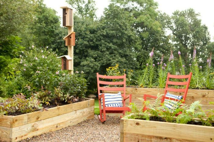 jardines borde estructura mesas torres mbiliario