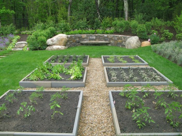 jardines borde exterior estilos plantas exteriores