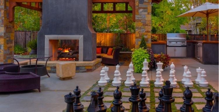 jardines detalles calidas terrazas elegantes sillones