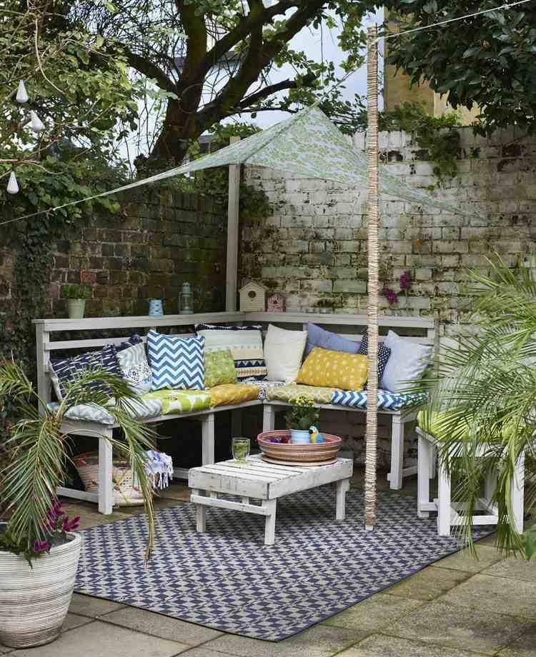 jardines detalles sillones sombra estilos muros