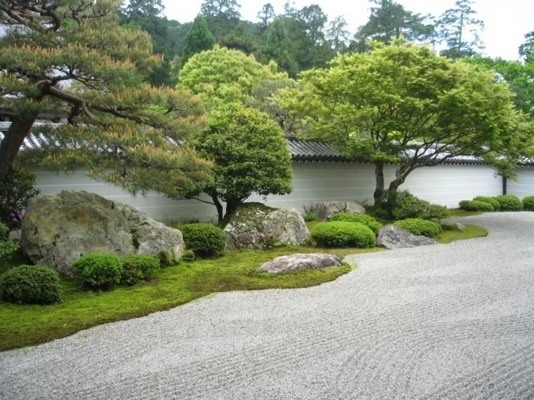 diseño jardines modernos estilo zen