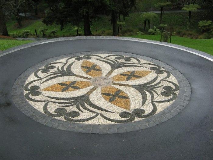 jardines mosaicos funciones estantes parametros