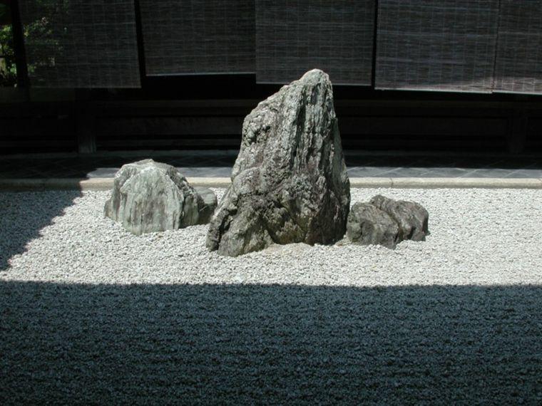 jardines rocas decoracion sencilla