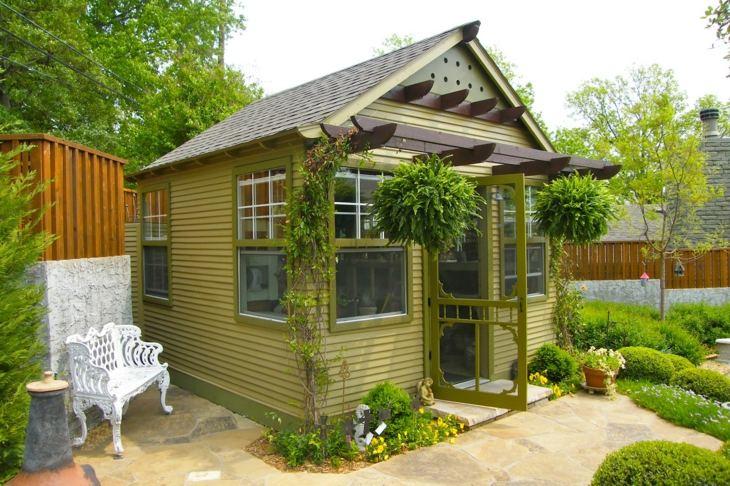 jardines verdor tradicional efectos banco