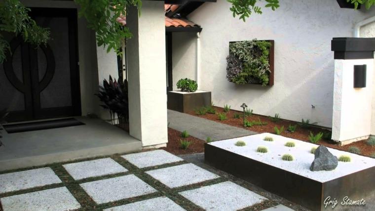 jardines zen modernos diseño