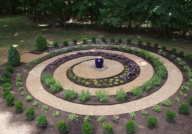 laberintos pequeños diseño espiral