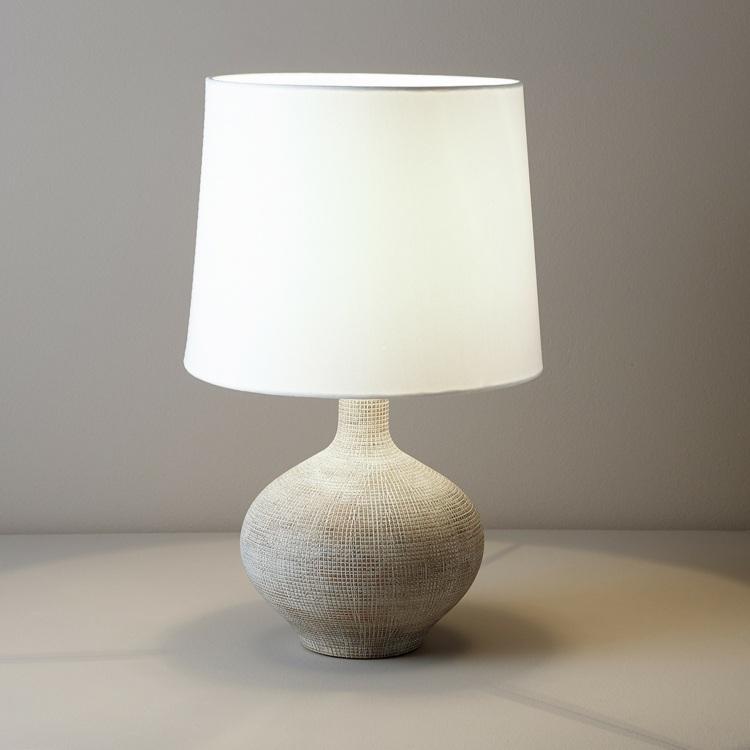 lamparas el corte ingles cerámica tela pantalla