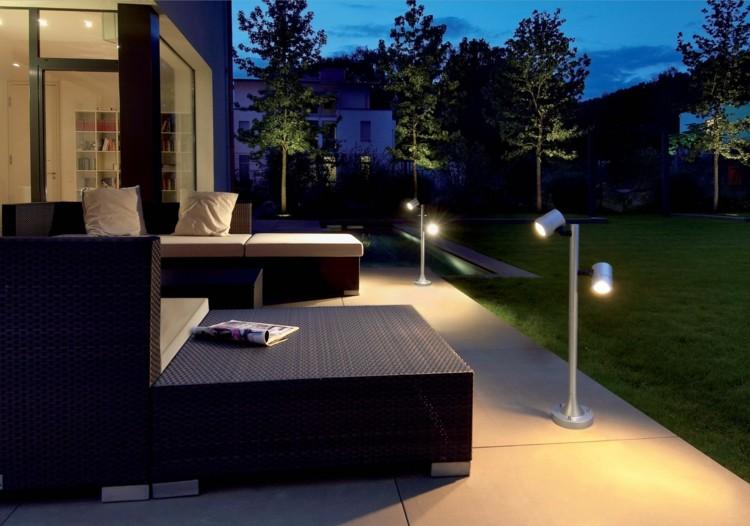 lamparas moderna siluetas efectos conceptos