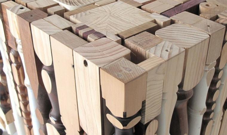 listones madera patas viejas madera