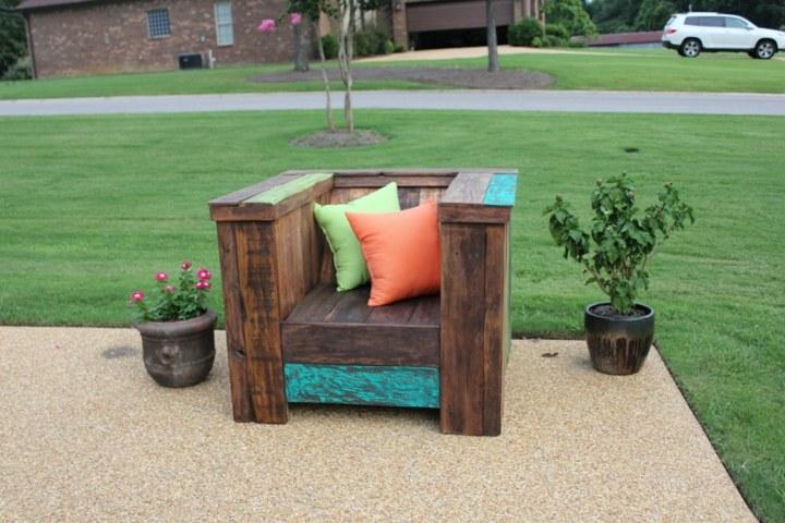 macetas decoraciones exteriores cojines maderas