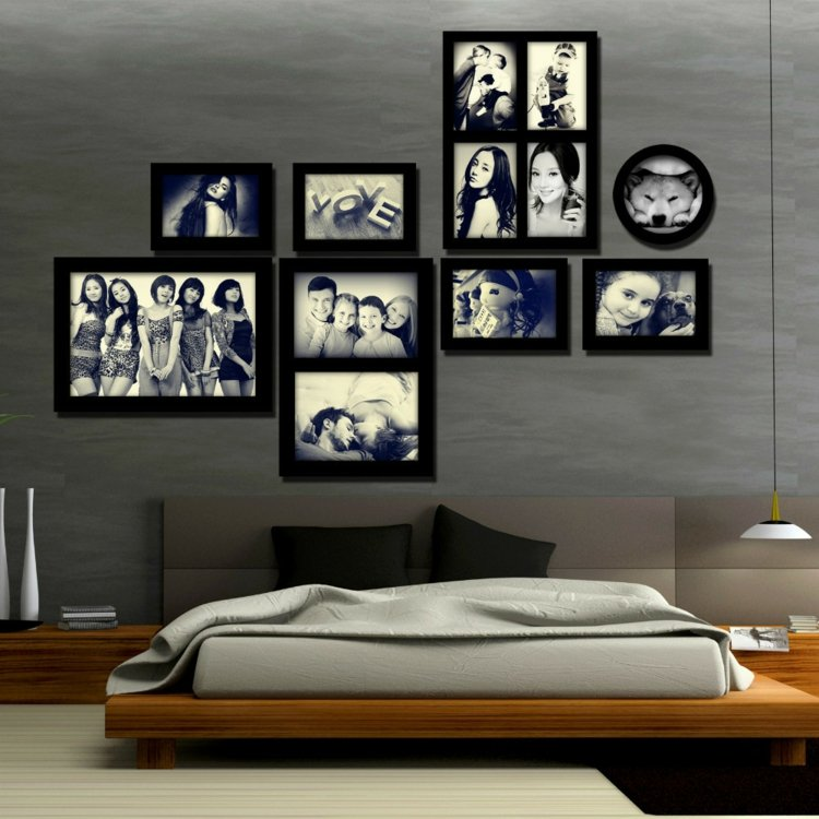 Decorar con fotos para disfrutar de momentos inolvidables - Collage de fotos para pared ...