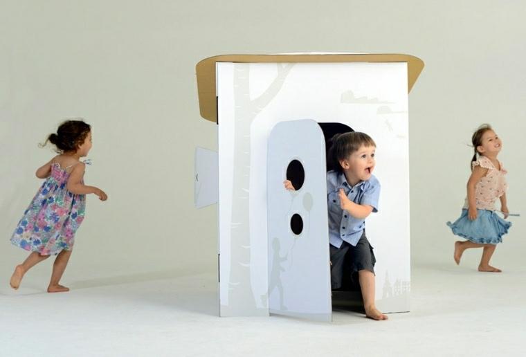manualidades para ninos faciles casa carton ideas