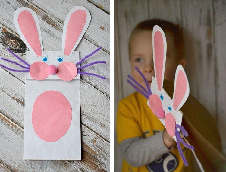 manualidades-para-ninos-faciles-conejo-papel