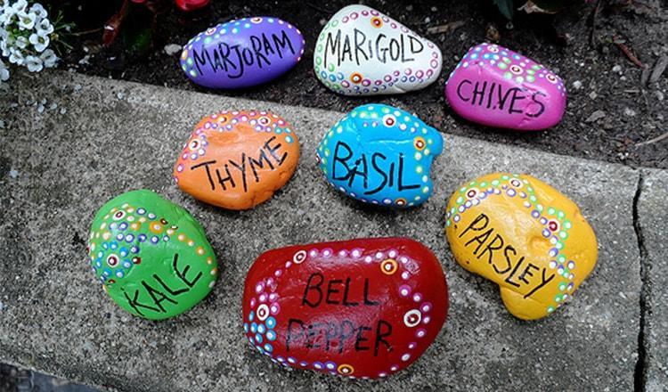 manualidades para ninos faciles piedras pintadas ideas