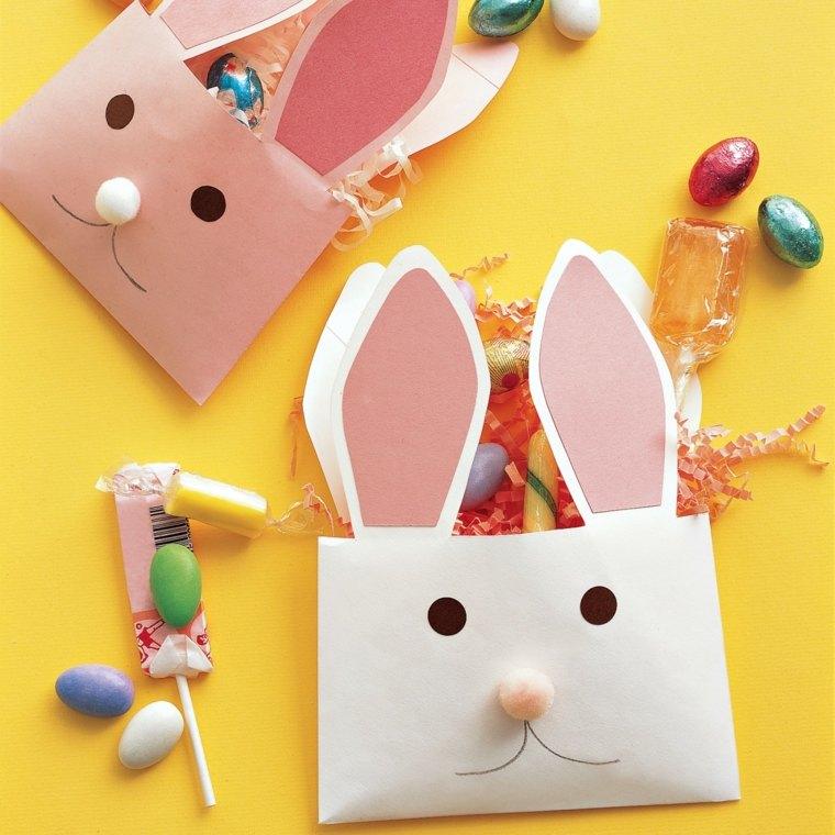 manualidades ninos faciles sobres convertidos conejos ideas - Manualidades Faciles Para Nios
