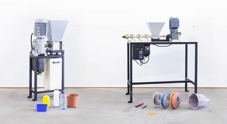 maquinas para reciclar objetos de pl stico de dave hakkens