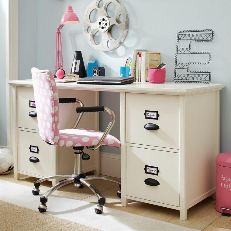 mesa escritorio juvenil cajones grandes