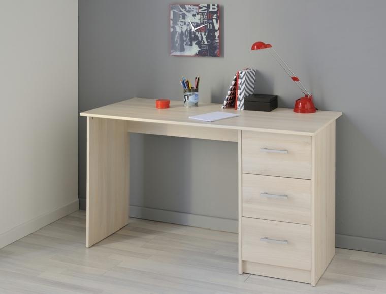 Escritorios juveniles 24 modelos funcionales y modernos for Disenos de cuartos para ninas sencillos