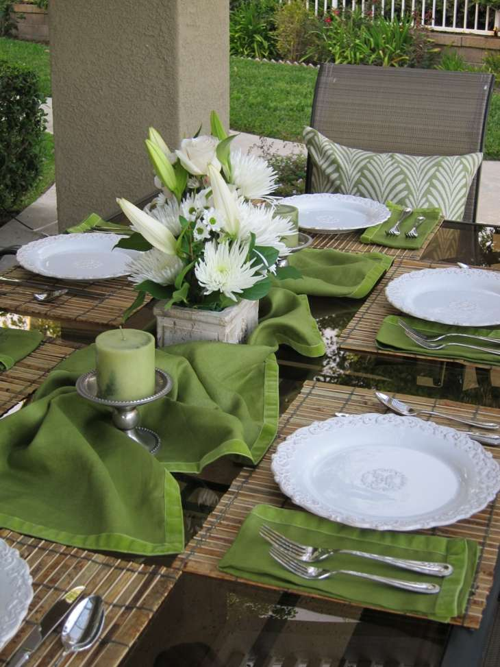 Mesas de jardin decoracion para celebraciones inolvidables - Mesa de jardin ...