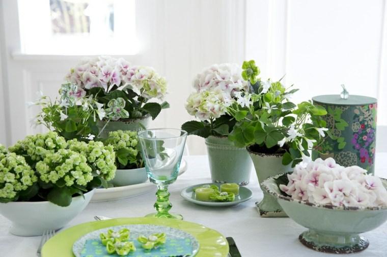 mesas decoradas verano muchas flores